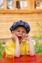 Free Yawning Boy 1 Stock Image - 14680551