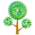 Free Abstract Green Tree Royalty Free Stock Photo - 14682975
