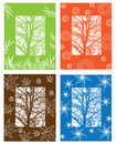 Free Picture With Four Season Symbols Stock Photography - 14684002