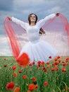 Free Girl In Field Stock Image - 14684631