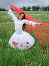Free Girl In Field Stock Image - 14684641