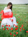 Free Girl In Field Royalty Free Stock Image - 14684656