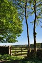 Free Countryside Gate And Wall Stock Image - 14686701