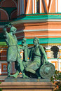 Free Minin & Pozharsky Monument Stock Photography - 14687032