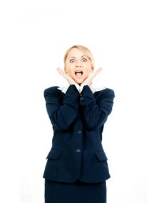 Free Happy Businesswoman Stock Photography - 14680492