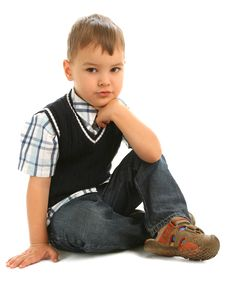 Free Little Boy Stock Photography - 14680712
