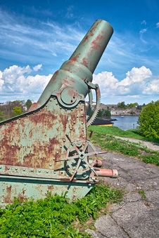 Free Old Cannon Stock Photography - 14680902