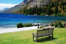Free Chair With Great Scenic Stock Photos - 14681303