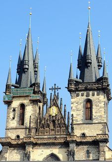 Free Tower In Prague Royalty Free Stock Photos - 14681548