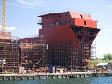 Free Shipyard Royalty Free Stock Images - 14683039
