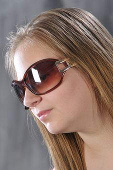 Free Girl Is In Sun Glasses Stock Images - 14683774