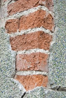 Free Broken Wall Pattern Royalty Free Stock Photos - 14684918