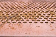 Abstract Rusty Metal Texture Royalty Free Stock Image