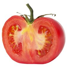 Free Half Of Tomato Royalty Free Stock Images - 14685299