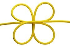 Free Yellow Knot Royalty Free Stock Photo - 14685365