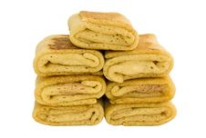 Free Stuffed Pancakes Stock Image - 14685501