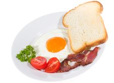Free Fried Egg Royalty Free Stock Photography - 14685767