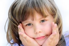 Free Cute Little Girl Royalty Free Stock Image - 14686066