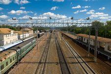 Free Railway Station Stock Image - 14686161