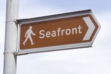 Free To The Seafront Stock Images - 14686484