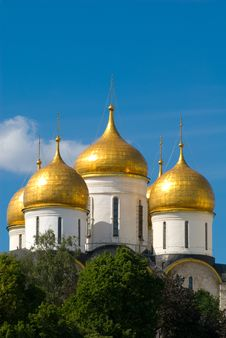 Moscow. Temple Stock Photo