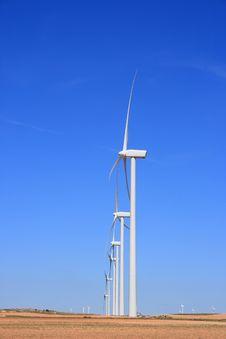 Free Wind Turbines Stock Image - 14686811