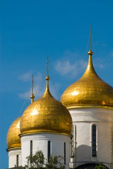 Moscow. Temple Fragment Stock Image