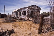 Free Mojave Shack Royalty Free Stock Images - 14686849