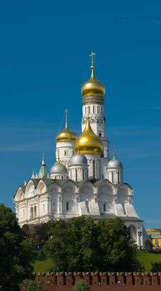 Moscow. Temple Stock Photos