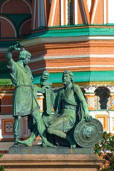 Free Minin & Pozharsky Monument Stock Photography - 14687032