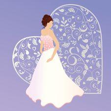 Free Beautiful Bride Beaded Bodice Stock Photos - 14687093