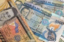 Free Philippine Banknotes Royalty Free Stock Photo - 14687585