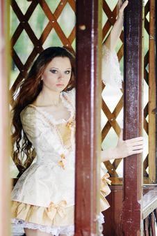Free Girl In  Summerhouse Stock Photo - 14687950