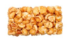 Background From Sweet Popcorn In Honey
