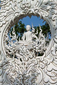 Free Exquisite White Lord Buddha Image Stock Photo - 14688100