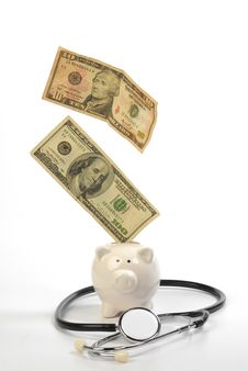 Free Piggy Bank Royalty Free Stock Photo - 14688305