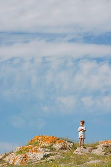 Free Boy On Natural Background Stock Images - 14688774