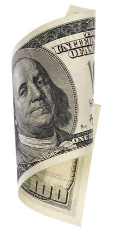 Free Hundred Dollar Banknote Royalty Free Stock Photos - 14688808