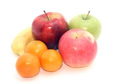 Group Of Fruits Royalty Free Stock Photography