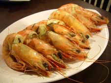 Free Baked Prawn Royalty Free Stock Photos - 14688868