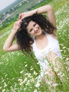 Free Girl In Field Stock Photography - 14688932