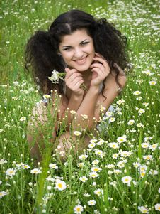 Free Girl In Field Stock Photos - 14688933