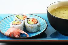 Free Sushi And Soup Stock Photo - 14689080
