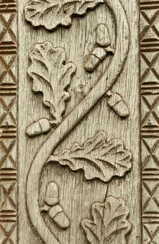 Wood Carving Royalty Free Stock Photos