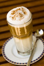 Free Coffee Latte Macchiato In A Glass Royalty Free Stock Images - 14691079