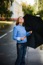 Free Girl With Umbrella Royalty Free Stock Photo - 14692895