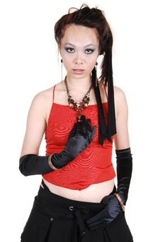 Free Asian Punk Girl. Royalty Free Stock Images - 14690779