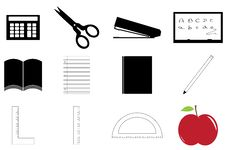 Free School Supplies Set Royalty Free Stock Images - 14690849