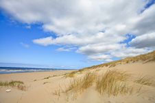 Free Sand Dunes Near To The Sea Royalty Free Stock Photography - 14690977