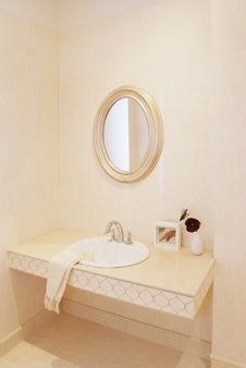 Free Basin In The Bathroom Stock Photos - 14691683